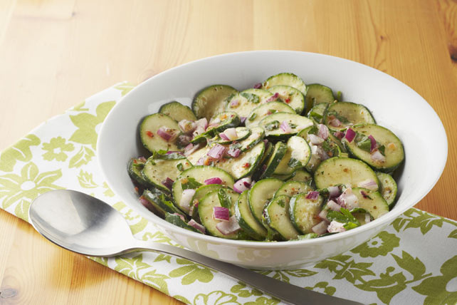 Marinated Zucchini & Parsley Salad Image 1