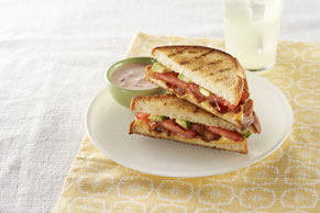 Barbecue-Style Grilled Cheese