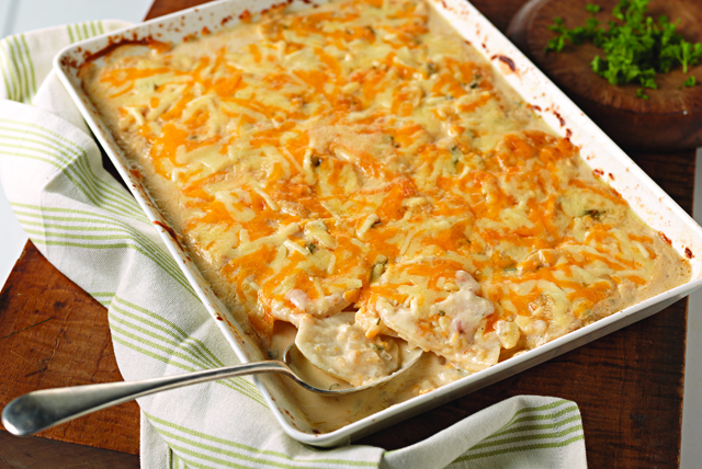 Savory Garlic Scalloped Potatoes Image 1