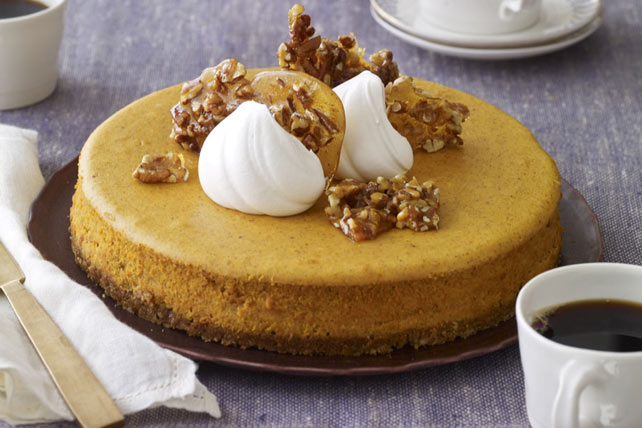 Pumpkin Praline Cheesecake Recipe - Kraft Canada