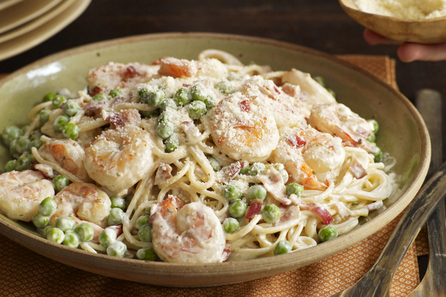 Shrimp Carbonara Image 1