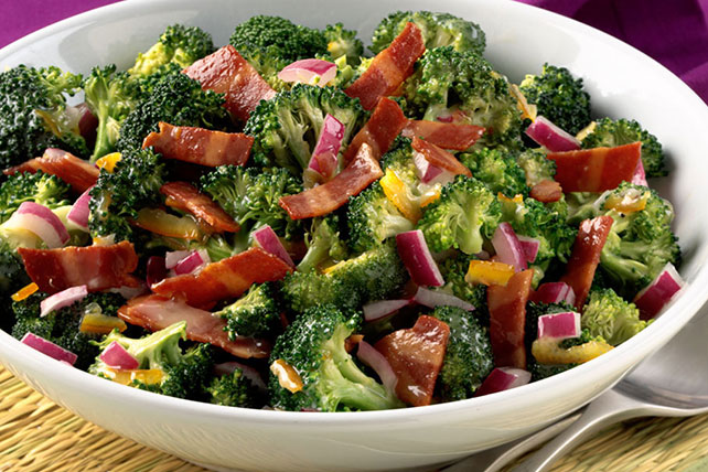 Sunshine Broccoli Bacon Salad 125632 on oscar mayer selects nutrition