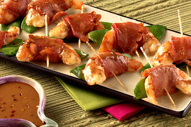 Asian-Style Turkey Bacon Appetizers Image 1