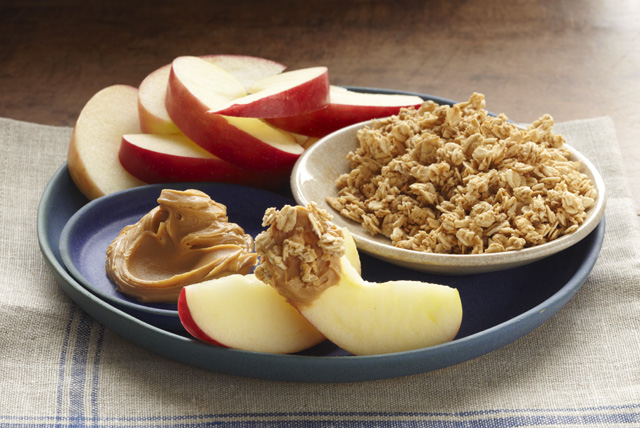 Peanut Butter & Apple Snacker
