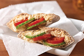 Hummus Mini-Pita Pockets
