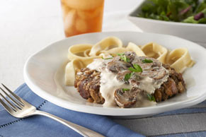 Salisbury Steak with Creamy Sauce