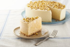 Creamy Sweet Corn-Ice Cream Cake