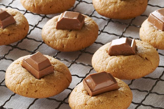 Biscuits au beurre d'arachide et au chocolat Image 1