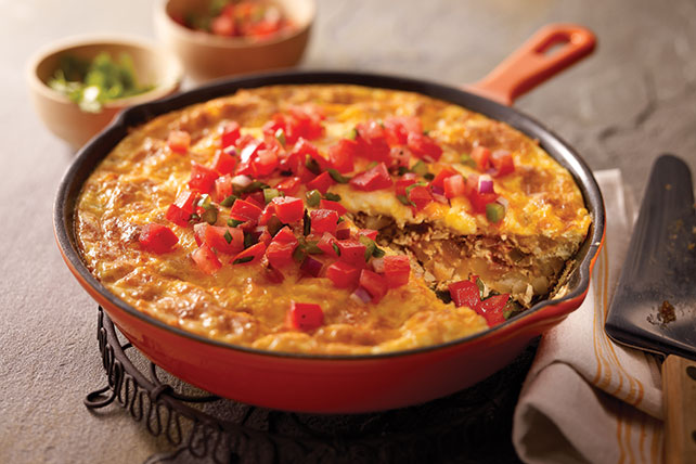 Chorizo, Potato & Green Chile Omelet Image 1