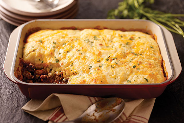 Cornbread Casserole with Cheese Image 1
