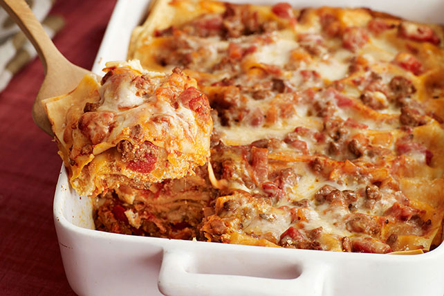 Four-Cheese Lasagna Image 1