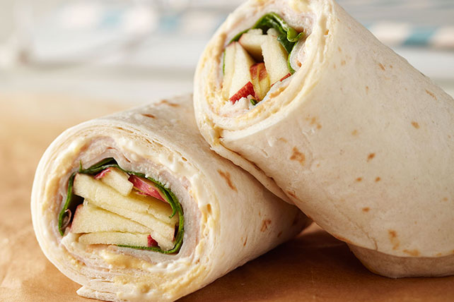 Turkey & Apple Wrap Image 1