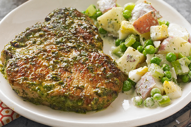 pork-chops-creamy-chimichurri-potato-salad-126672 Image 1