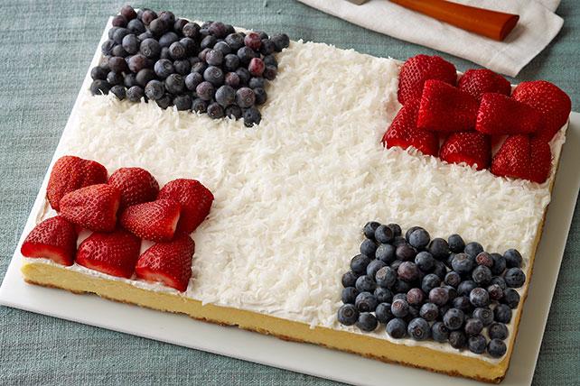 Cheesecake saludo a la bandera Image 1