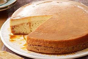 Vanilla Flan-Cake