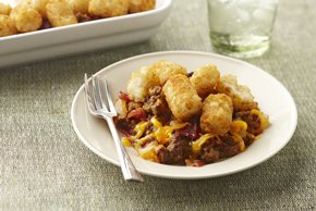 Smart-Choice Bacon Cheeseburger Casserole