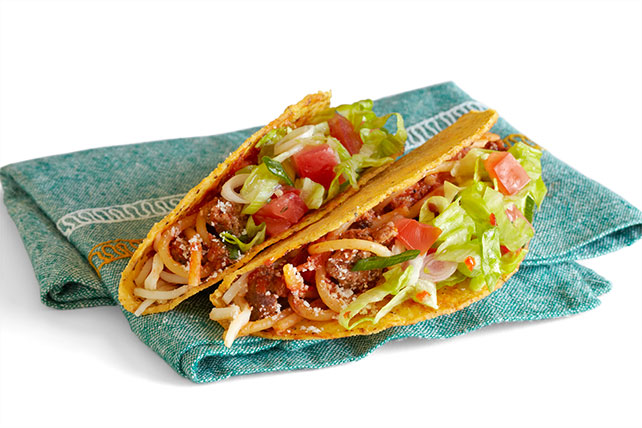 Spaghetti Tacos My Food And Family