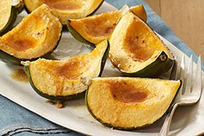 Parmesan-Glazed Acorn Squash