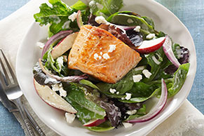 Greek-Style Salmon Salad