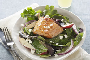 Greek-Style Salmon Salad