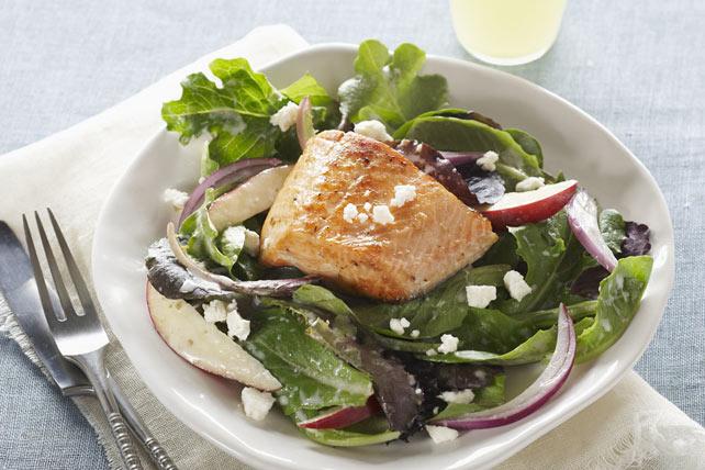 Salade au saumon à la grecque Image 1