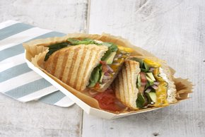 California Sourdough Veggie Panini