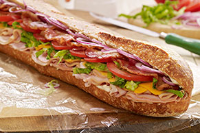 Tailgate Turkey & Ham Club Sub