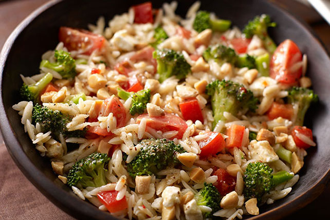 Orzo and Broccoli Salad