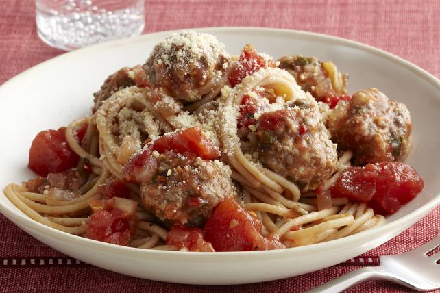 Spaghetti et boulettes repensés Image 1