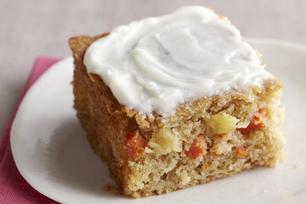 Carrot & Pineapple Cake