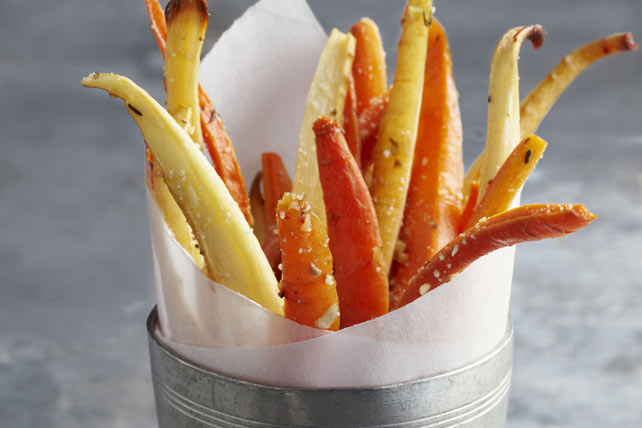 "Parsnip & Carrot ""Frites"" Image 1"