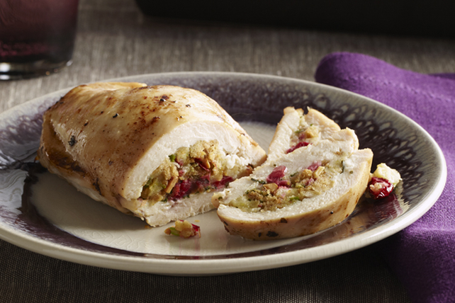Cranberry-Stuffed Chicken Breasts Image 1