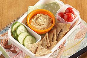 Bocaditos de humus