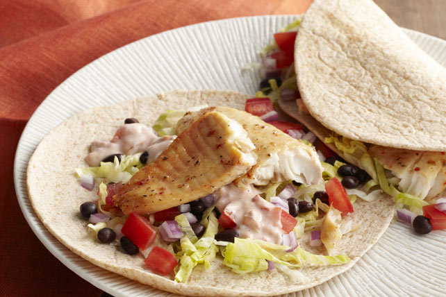 Grilled Tilapia Tacos Image 1