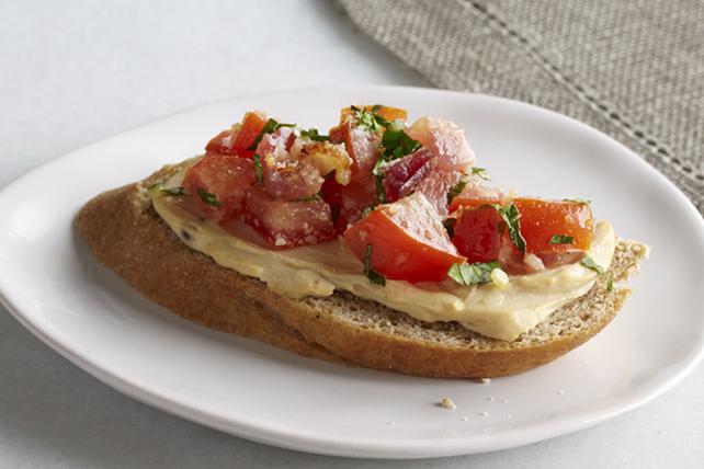 Bruschettas au bacon et aux tomates Image 1