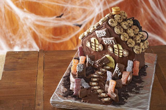 Gâteau « Maison hantée » Image 1