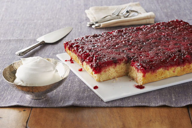 Cranberry Upside-Down Cake Image 1
