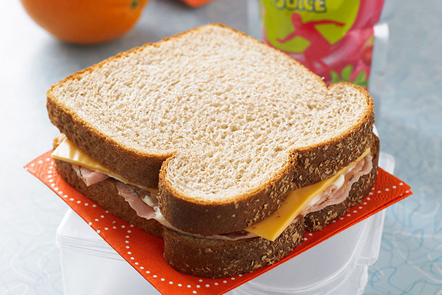 Freeze-Ahead Ham & Cheese Sandwiches Image 1
