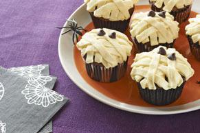 Cupcakes con ojos