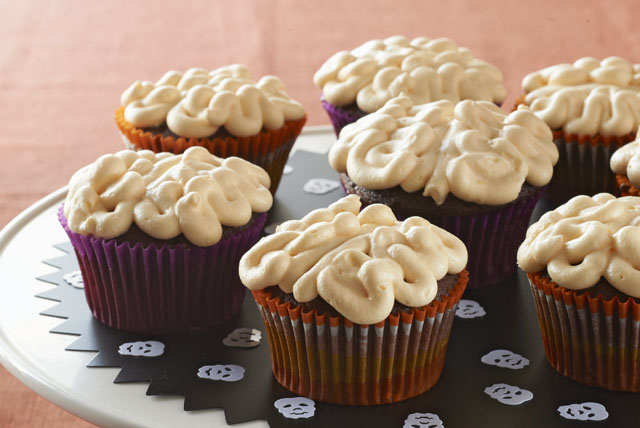 Gooey Brain Cupcakes Image 1