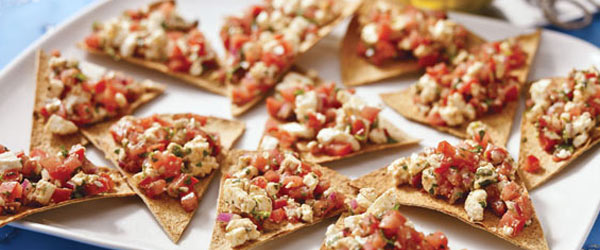 Paneer Bruschetta Chips