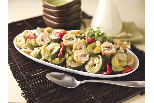 Salade de concombres écrasés à la Beijing Image 1