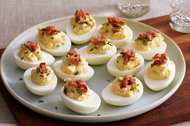 Bacon & Chive Deviled Eggs Image 1