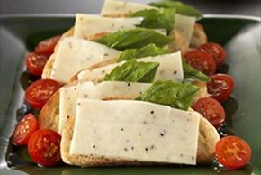 Black Pepper Bruschetta