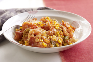 Make-Ahead Cheesy Shrimp & Rice
