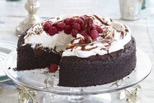 Double-Chocolate Treasure Cake