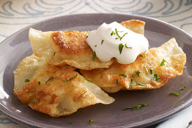 Shortcut Pierogi Recipe