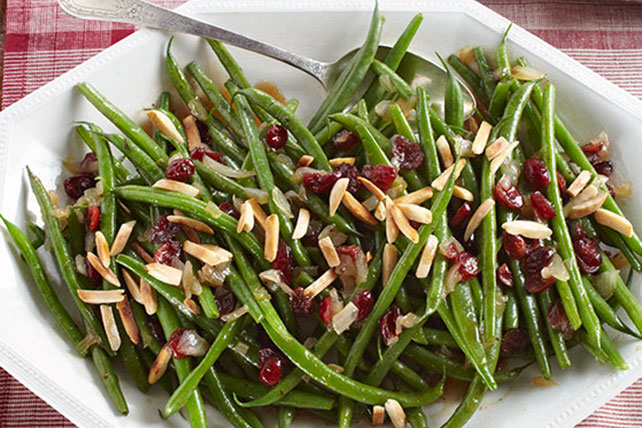 Balsamic-Glazed Green Beans Image 1