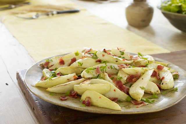 roasted chayote with bacon kraft recipes