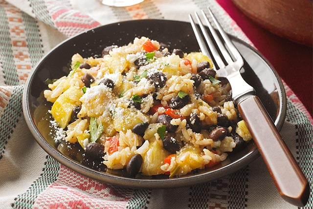 Pineapple & Black Bean Rice Image 1